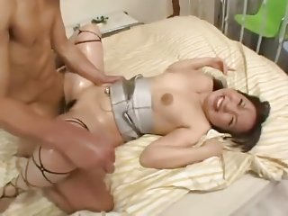 Japanese girl Fucks in all holes