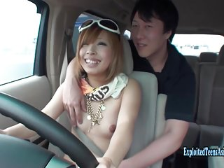 Jav Amateur Shirai Naked Driving Gets Vibrator Action Uncensored In Traffic Outrageous Exhibitionist Scene