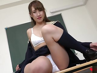 LovePop Aisa Ito Pretty White Panties 1