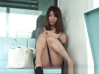 Public asian cunt flash
