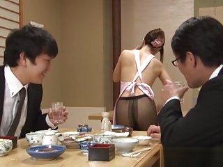 Naughty Asian amateur Hibiki Ohtsuki gives impressive blowjob